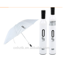 Wine Bottle Umbrella/customize umbrella/21 inch/rain shadow