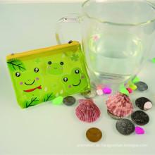 Beliebte Kunststoff gedruckt billige Promotion Portemonnaie/Geldbörse