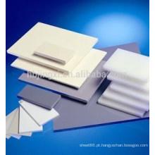 Folha de plástico rígido de PVC, folha de plástico de 3 mm