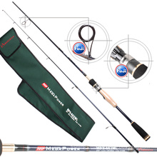 FUJI Guide Reel Seat Carbon Fiber Fishing Spinning Rod