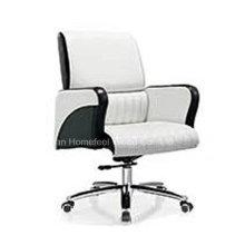 Cadeira de gerência de escritório de médio porte de couro genuíno de alta qualidade (HF-B1517)