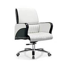 Высокое качество Подлинная кожа среднего Задний офис менеджер стул (HF-B1517)