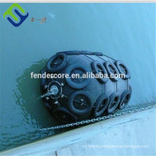 Marine floating pneumatic port fender