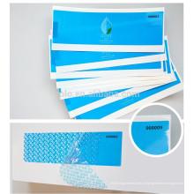 Fancy impermeável personalizado impressão segurança selo etiqueta garantia nulo adesivos