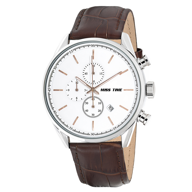 shop interior design leather wrist band men watch