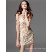 Venda quente mulheres de vestido moda vestido de verão
