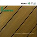 Cubierta al aire libre compuesta plástica impermeable de madera WPC del precio barato