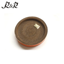 The best rattan cat house for sandwich bread toast plate RCS-8003