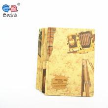 Пользовательский 4c в твердом переплете Lined Notebook A5 с винтажным дизайном (NP (A5) -Y-96P-03)
