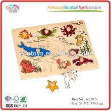 Puzzle de madera de mar
