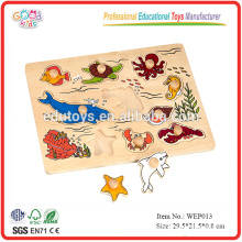 Wooden Sea Animal Puzzle