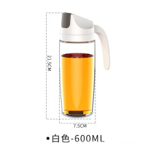 Automatic Opening and Closing of Oil Pot, Gravity Oil Pot, Kitchen Glass Soy Sauce Pot, Japanese Style Oil Pot Without Oil, Leak Proof Oil Bottle Wholesale