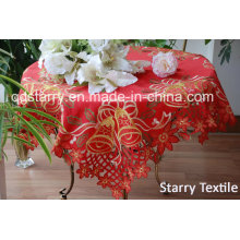 Christmas Tablecloth Red Color Fh008