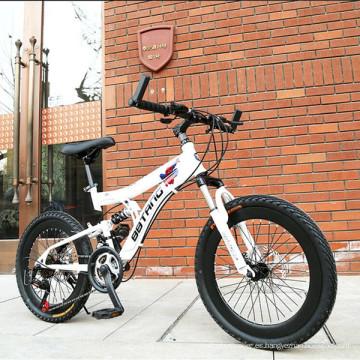 ¡Nuevo! ! ! Bicicleta de montaña de suspensión total de aleación de aluminio de alta calidad