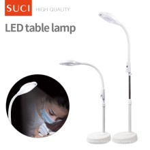 Adjustable Height LED Cold Light With Wheel Eyelash Extension Led Lamp