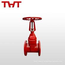 BS 5163 augmentant la valve de porte flexible de joint de Seat de tige / valve d'extincteur