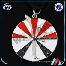 Moeda de medalha personalizada KARATE 3d
