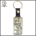 Promotional stainless steel custom shaped metal keychain