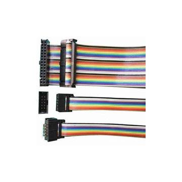 Rainbow flat cable assemblies