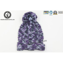 Mode Warm Strickmütze, Trendy Jacquard Hut, Beanie