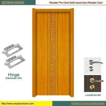 Puerta corrediza de PVC Puerta de PVC hambrienta Puerta de madera