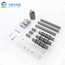 10kv three cores cold shrink cable accessories joint kit termination