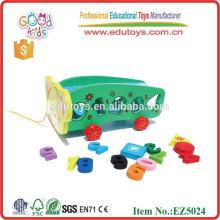 2015 Nuevo juguetes educativos de madera del vehículo