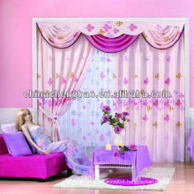 2013 fashion curtains with valance