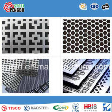 Decorative Mesh Aluminum and Stainless Steel Perfoated Sheet