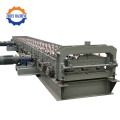 PLC Controlling PPGI Decking Floor Panel Making Machine