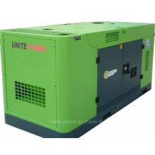 Vereinigen Sie Schalldämmungsgenerator der Energie-60kVA mit Doosan-Maschine