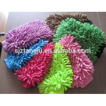 Microfiber Chenille Wash Cleaning Mitt Brush Glove Towel for Car
