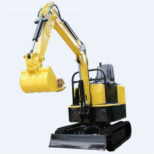 1 ton nova mini-escavadora hidráulica