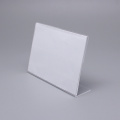 Liten storlek Clear Acrylic Table Card Stand
