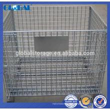Jaula de almacenamiento de metal / contenedor de malla de alambre para wearhouse