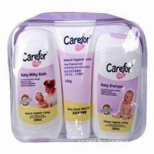 Baby Gift Set, Baby Milky Bath 200mL, Baby Lotion/Baby Hand Wash Gel 100g, Baby Shampoo 200mL