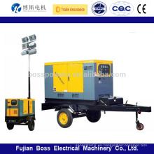 5-1500kw generador diesel refrigerado por agua móvil