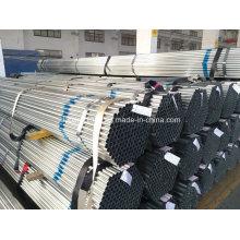 Tubo de aço galvanizado / tubo de aço galvanizado / galvanizado canalização / Zn revestido-25