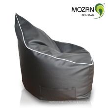 Острый спины PU кожа beanbag секционные диван beanbag