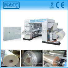 Web roller printing film label inspection machine quality checking of all kinds of printed film