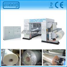 Web do rolo filme etiqueta inspeção máquina qualidade de impressão verificação de todos os tipos de película impressa