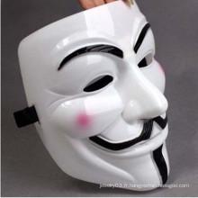 Vente chaude de masques diaboliques peints à la main au hip-hop Halloween
