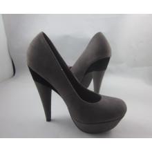 Новый стиль моды высокий каблук туфли (HCY03-143)