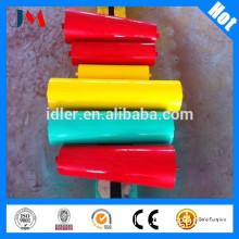 conveyor roller,impact carrying roller,idler with frame/ through roller/carrier roller