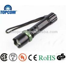 Hight power rechargeable cree led lampe de poche avec marteau d'urgence