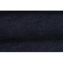 Popular Black Color Slub Denim Fabric Low Price