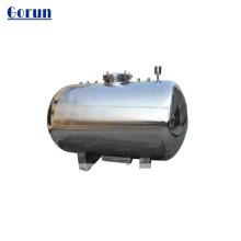 2000L tanque de armazenamento líquido encamisado