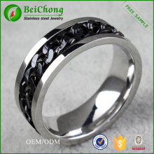 Jewelry Fashion Accessories Chain Stainless Steel Ring