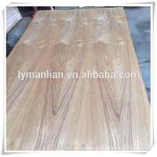 burma teak fancy sperrholz / blumenschnitt teak furnier sperrholz / asche furnier sperrholz für den irak