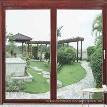 Fenêtre coulissante en verre en aluminium sur mesure (FT-W126)